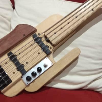 M7instruments Basse 5 cordes Fretless 2018