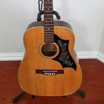 *Rare 1960s* MIJ Dallas Arbiter Jumbo Dreadnought