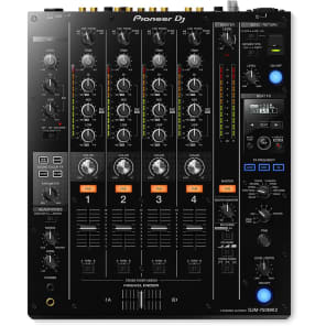 Pioneer DJM-750MK2 4-Channel DJ Mixer with rekordbox DJ License