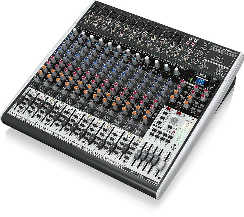 behringer xenyx x2442usb mixer with effects big apple music reverb. Black Bedroom Furniture Sets. Home Design Ideas