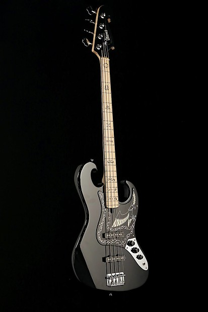 Ibanez Black Eagle Bass 2609b Reverb