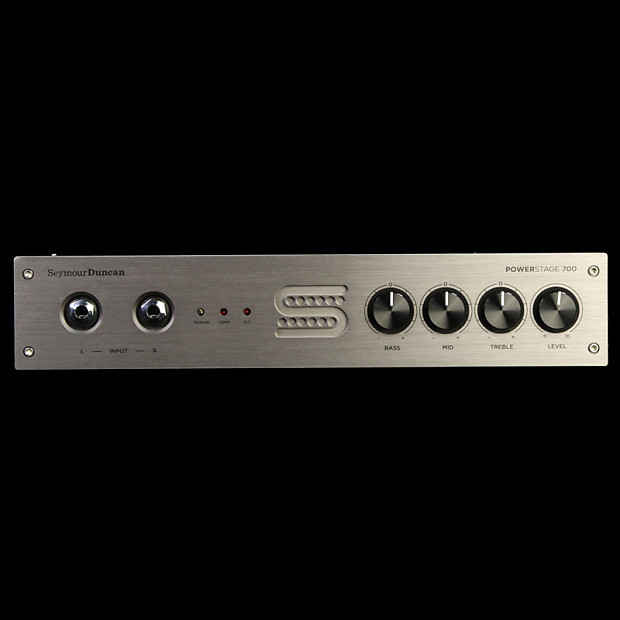 seymour duncan powerstage 700 rackmount guitar amplifier head reverb. Black Bedroom Furniture Sets. Home Design Ideas