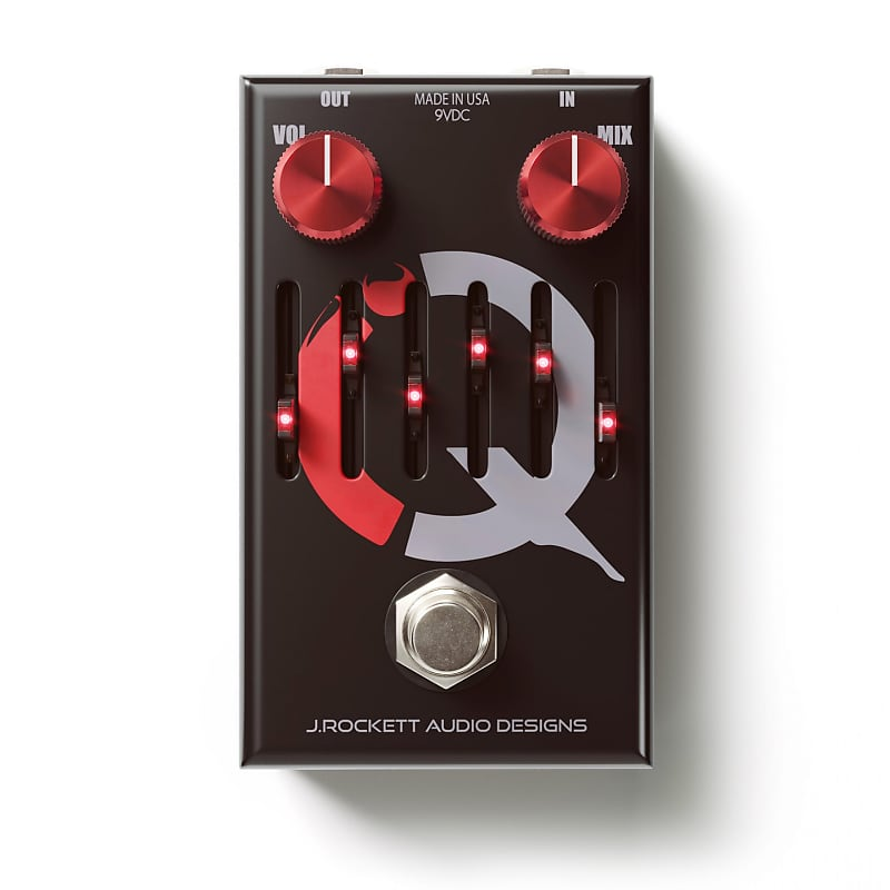 J. Rockett I.Q. Compressor / EQ Effects Pedal