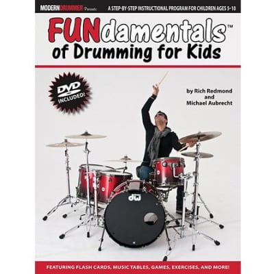 FUNdamentals of Drumming for Kids (w/ DVD)