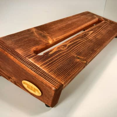 Rough Rider Large Textured - Cognac Stain Pedalboard by KYHBPB - P.O.