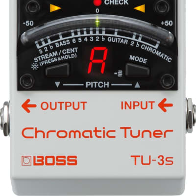BOSS TU-3S - CHROMATIC TUNER for sale