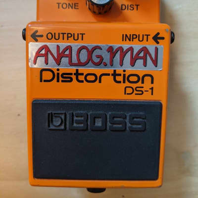 Boss DS1 with Analogman Mod