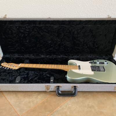 Fender American Standard Telecaster Inca Silver with Fender Hardshell Case + Fender Strap 1998 for sale