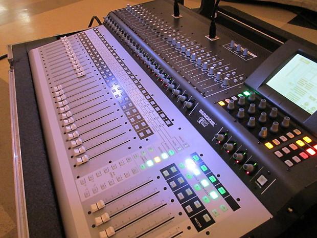 two mackie tt24 digital live mixing consoles w road cases 2 reverb. Black Bedroom Furniture Sets. Home Design Ideas