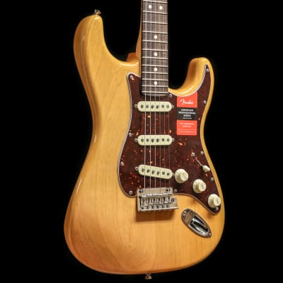 Fender American Pro Stratocaster Limited Edition Light Ash Aged Natural for sale