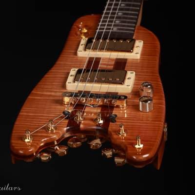Strobel Custom Rambler Electric Travel Guitar 2021 Natural for sale