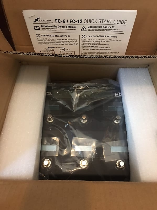 Fractal Audio FC-6 Foot Controller Axe-Fx III Pedal