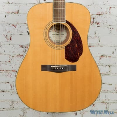 Fender PM-1 Standard Dreadnought Acoustic Guitar Natural (USED) for sale