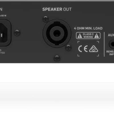 TC Electronic BQ500 500-Watt Bass Head w// Mosfet Preamp and Thrust Compressor