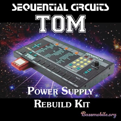 Sequential Circuits TOM Power Supply Rebuild Kit by Bassmobile.org