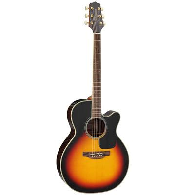 Takamine GN51CE Mahogany NEX Cutaway Sunburst Electro Acoustic Guitar for sale