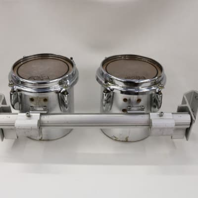 """Yamaha MQ806U Field-Corps Marching Band Tom Drum Pair, Made in Japan, 6"""""""
