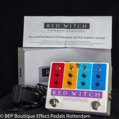 Red Witch Synthotron Analog Synth Filter Pedal s/n SY120304