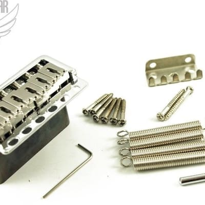 Wilkinson Licensed by Gotoh Contemporary 5+1 Hole Tremolo - Chrome (WVP6SBCR)