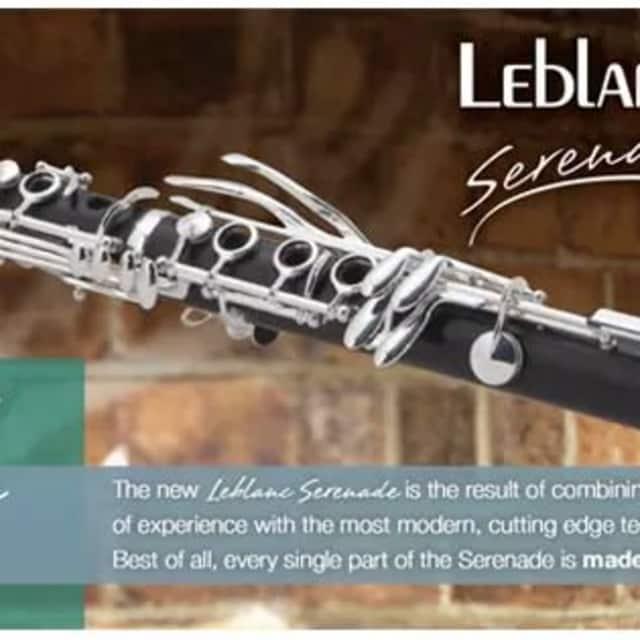 LeBlanc Serenade  Wood Clarinet New Floor Model Savings image