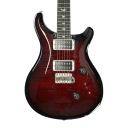 PRS Custom 24 Electric Guitar - Custom Fire Red Smokewrap Burst with Case - Demo