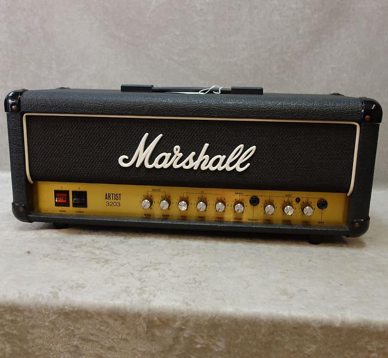 1989 marshall artist 3203 electric guitar amp head clean reverb. Black Bedroom Furniture Sets. Home Design Ideas