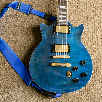 Epiphone Genesis Deluxe Pro Midnight Sapphire for sale