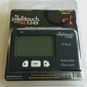 Intellitouch PT10XL Large-Display Traditional Chromatic Instrument Tuner