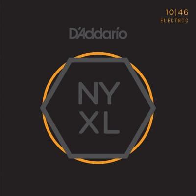 D'Addario NYXL1046 Nickel Wound Electric Strings - 10-46 Regular Light