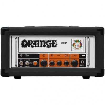Orange OR15H Black Tube Guitar Amplifier Head, 15W for sale