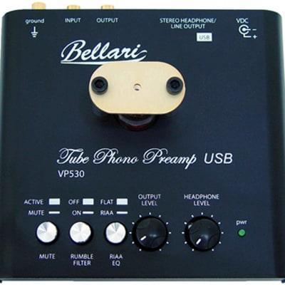 Bellari VP530 Tube Phone Stage w/ USB and Analog outputs Black