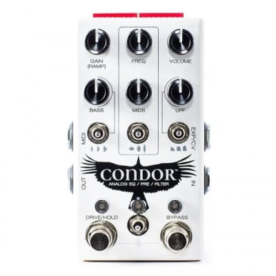 Chase Bliss Audio Condor Analog EQ/Pre Amp/Filter Pedal