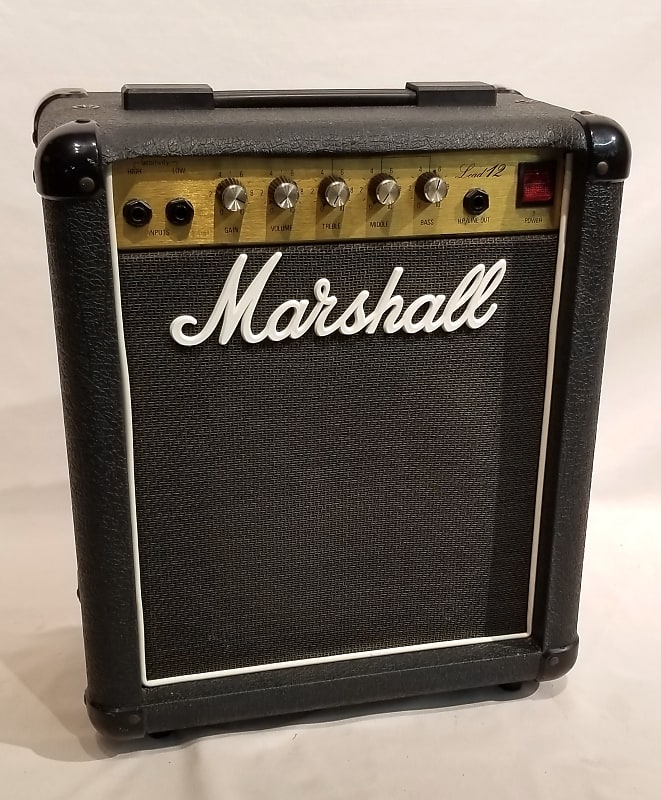 marshall 5005 lead 12 combo amp s 140r record head reverb. Black Bedroom Furniture Sets. Home Design Ideas