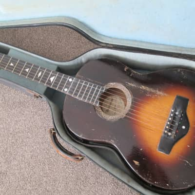 Grimshaw Revelation acoustic slide guitar c.1933 sunburst for sale