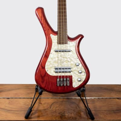 Warwick Fortress Flashback BO4 Bass Guitar (1996) w/ Faux Snake Skin Case for sale