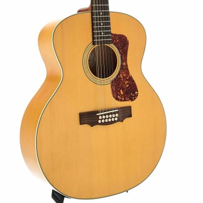 Guild Archback F-2512E Maple Acoustic 12-String Guitar and Gigbag for sale