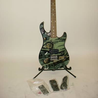 Peavey The Walking Dead Michonne Rockmaster Electric Guitar w/ Extras for sale