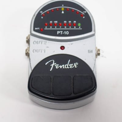 Fender PT-10 Chromatic Guitar Tuner Pedal for sale