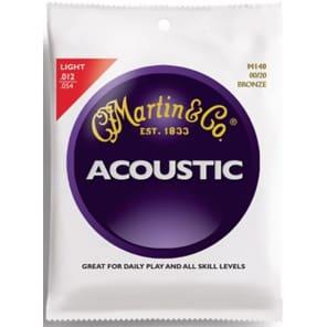 Martin M-140 80/20 Bronze Light Acoustic Strings