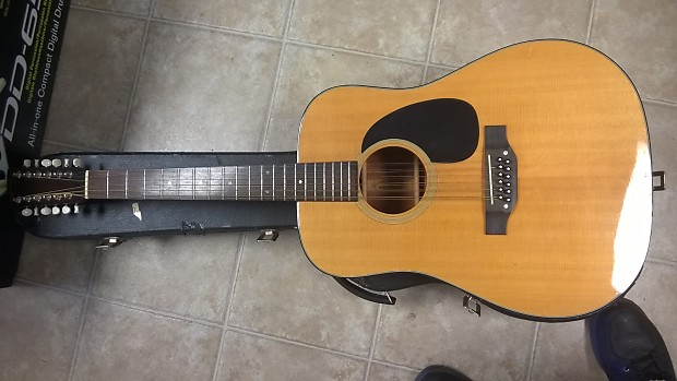Takamine 12 String G335 Lawsuit Natural Gloss Reverb