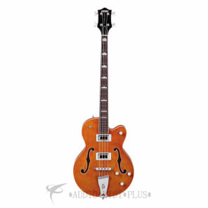 Gretsch G5440LSB Electromatic Hollow Body Rosewood Fingerboard Electric Bass Orange - 2518000512 for sale