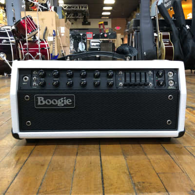 Mesa Boogie Mesa Boogie Mark Five:35 35/25/10-watt Tube Head Custom Hot White Bronco for sale