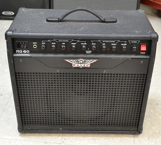 raven rg60 guitar combo amplifier amp 1x12 60w reverb. Black Bedroom Furniture Sets. Home Design Ideas
