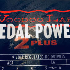 Voodoo Lab Pedal Power 2 Plus w/ mounting hardware