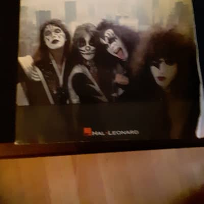 The Very Best of Kiss 1994 Guitar Tab Book