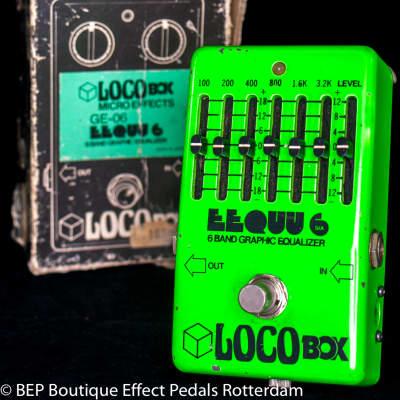 LocoBox Eequu6 6-Band Graphic Equalizer, late 70's Japan