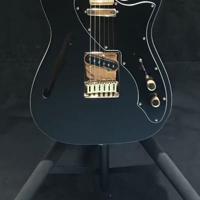Fender Limited Edition Telecaster Thinline Deluxe Satin Black for sale