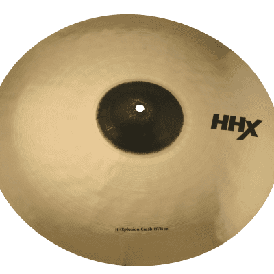 "SABIAN 19"" HHX X-Plosion Crash Brilliant Finish"