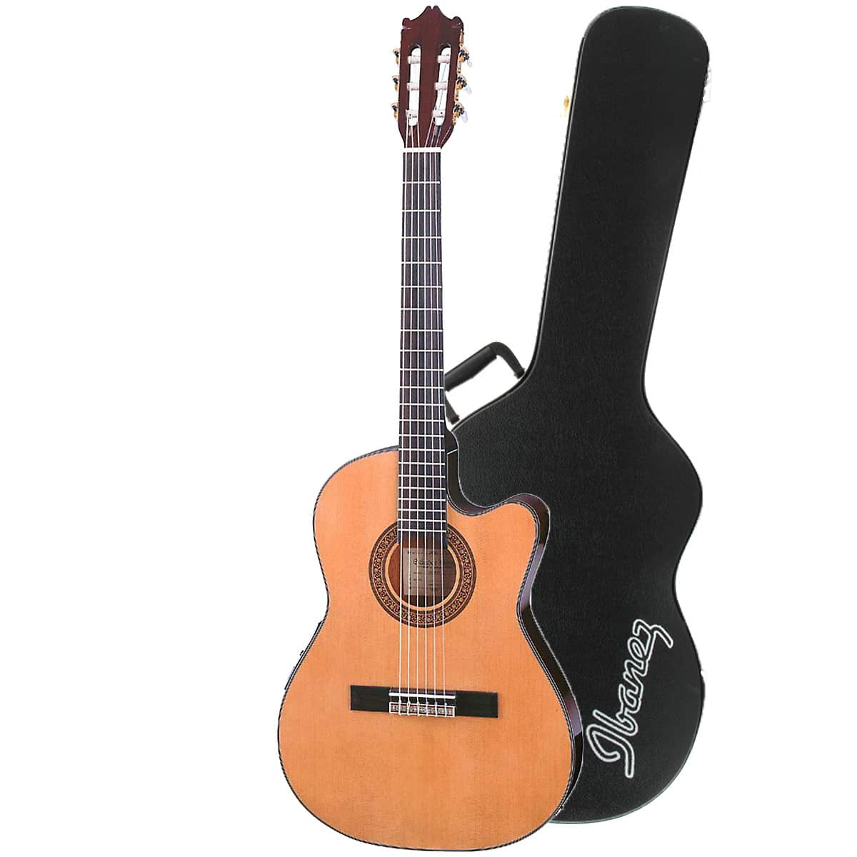 ibanez ga5tce am classical acoustic electric guitar in amber reverb. Black Bedroom Furniture Sets. Home Design Ideas
