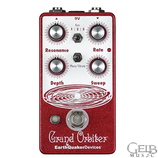 earthquaker devices grand orbiter v2 phaser guitar effect reverb. Black Bedroom Furniture Sets. Home Design Ideas